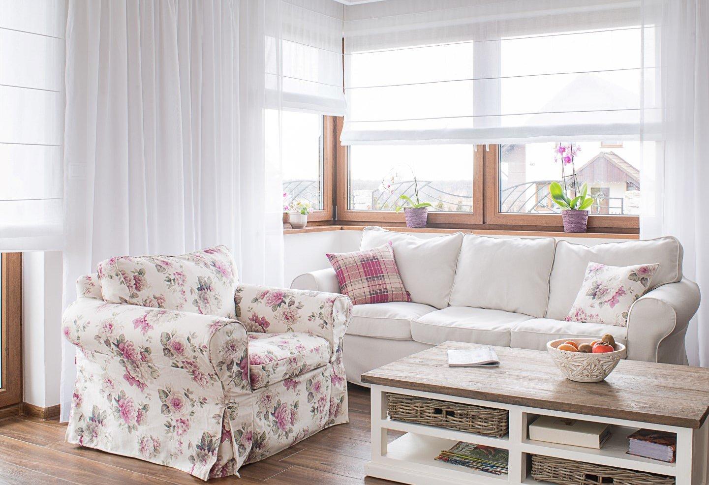 Obývací pokoj s anglickým akcentem