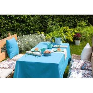 Ogród-  komfortowy wypoczynek przy stole