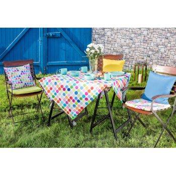 Veselé barvy v zahradě -  látky kolekce New Art