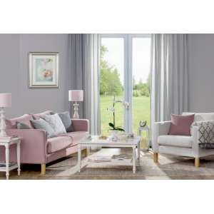 Living room Pastels & Grey