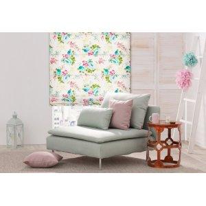 Obývací pokoj s květy