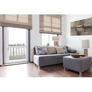 Obývačka a prímorský štýl