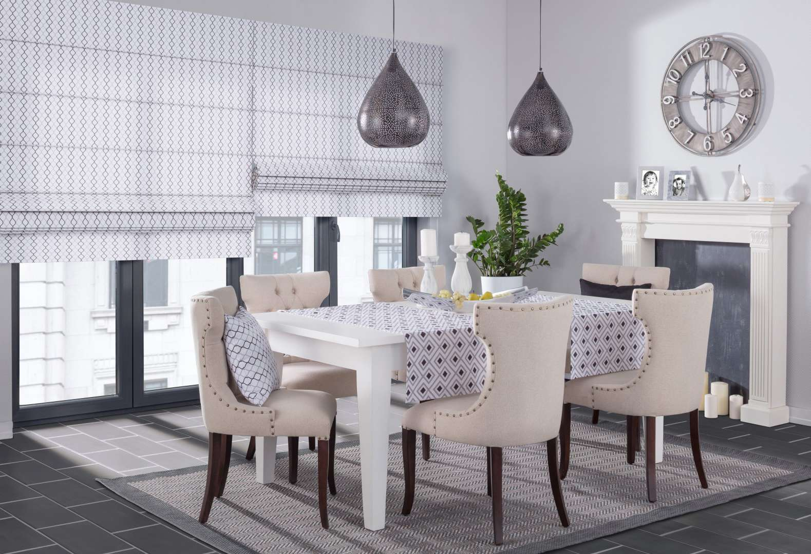 Dining room Geometric
