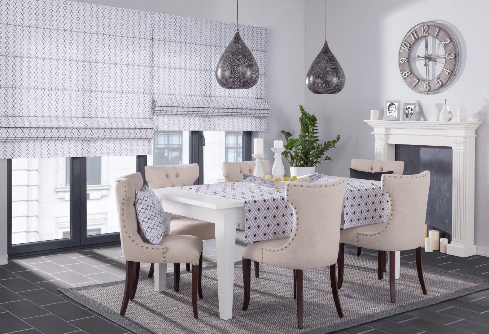 Moderná jedáleň - kolekcia Geometric