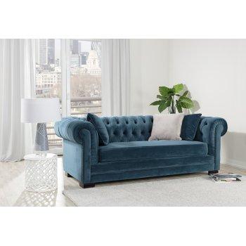 Chesterfield- Sofa im klassischen Stil