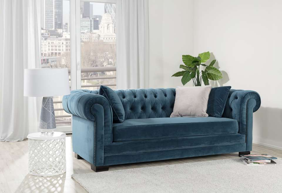 Sofa Chesterfield- elegancja i wygoda