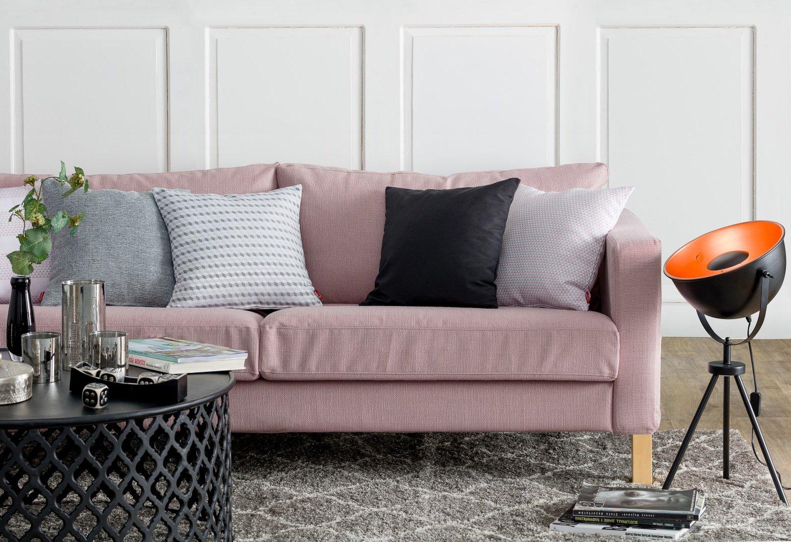 Wohnzimmer mit Pastelltönen