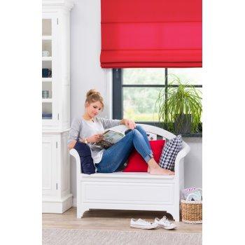 Elegantní a pohodlná lavička