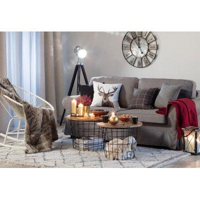 Obývačka v štýle Hygge