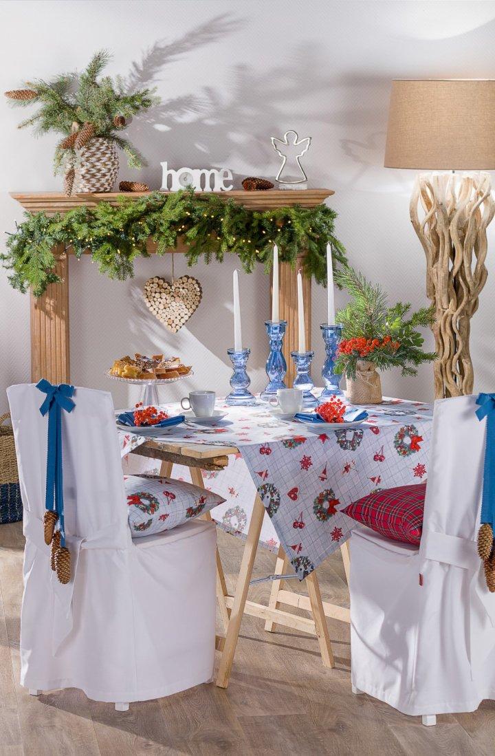 Sváteční stůl moderně
