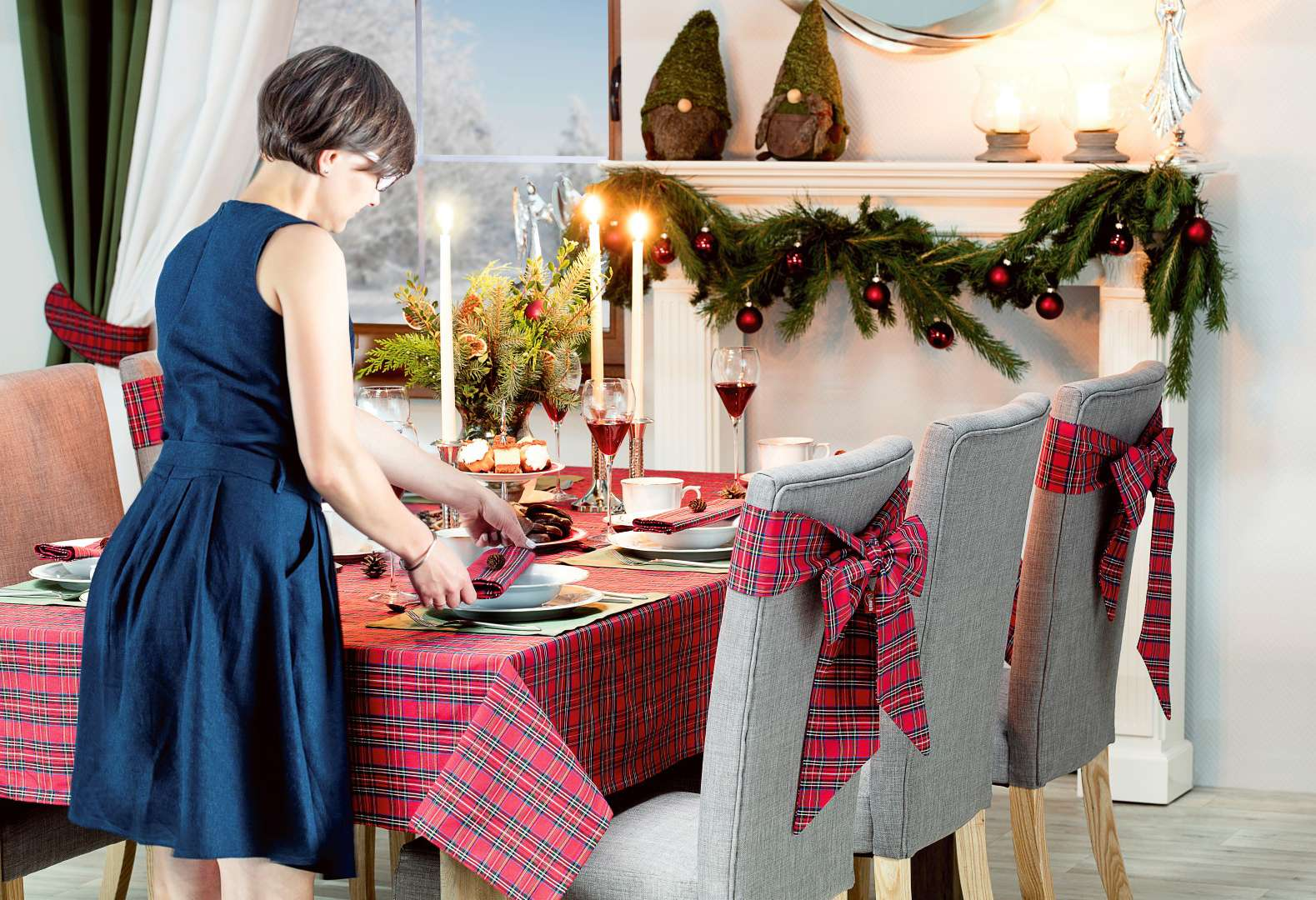Vianoce v klasickej červenej farbe