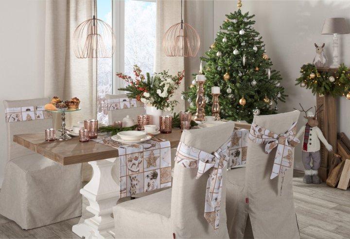 Módní měděná barva a vánoce