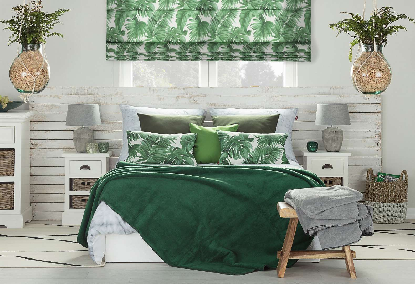 Tropická spálňa - Urban jungle