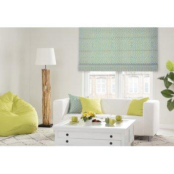 Jemnosť zelenej v obývačke