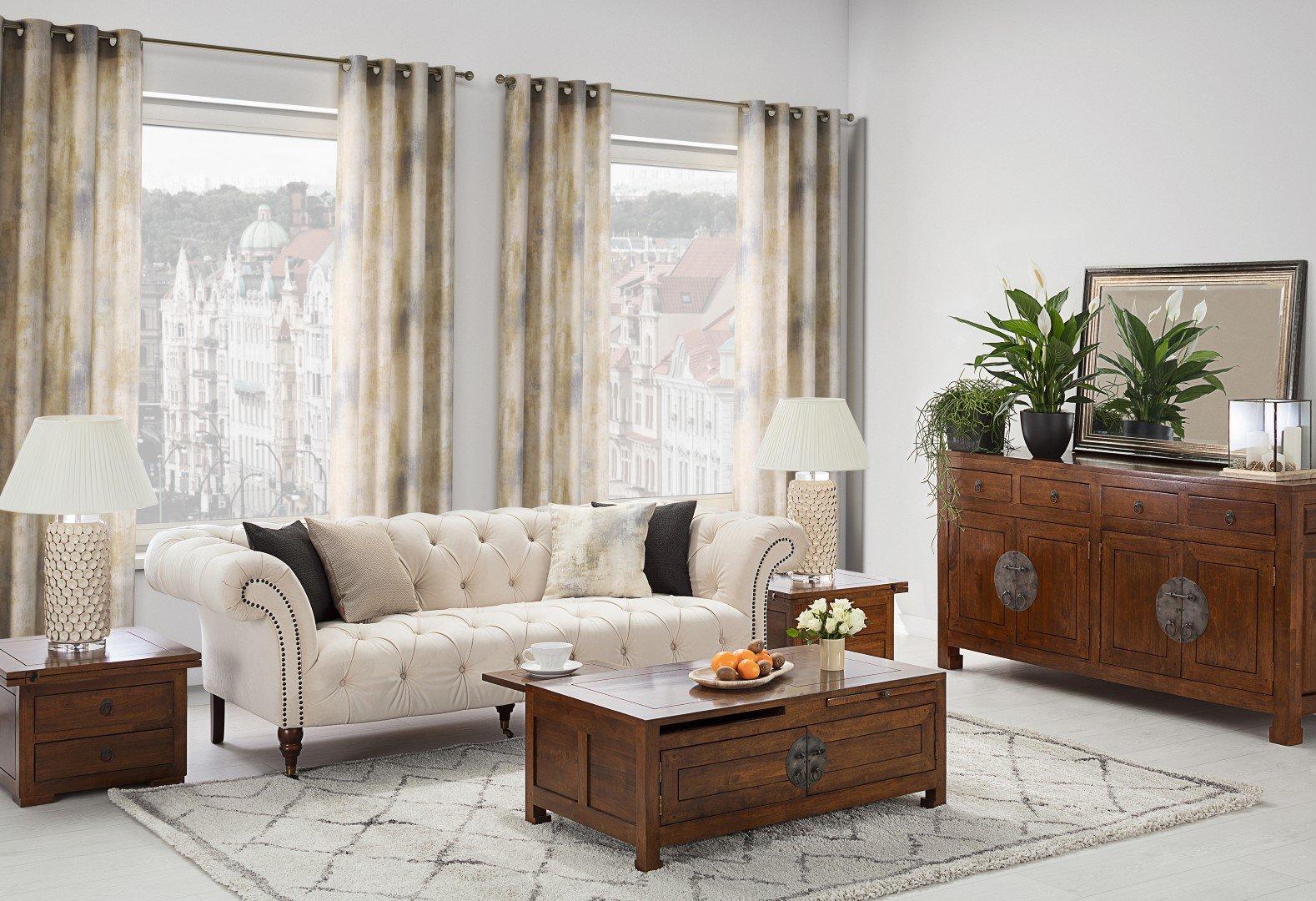 Elegantní pokoj v koloniálním stylu