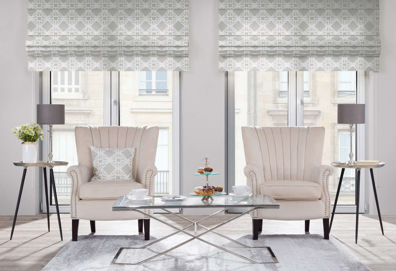 Obývací pokoj - jednuduše, ale se stylem