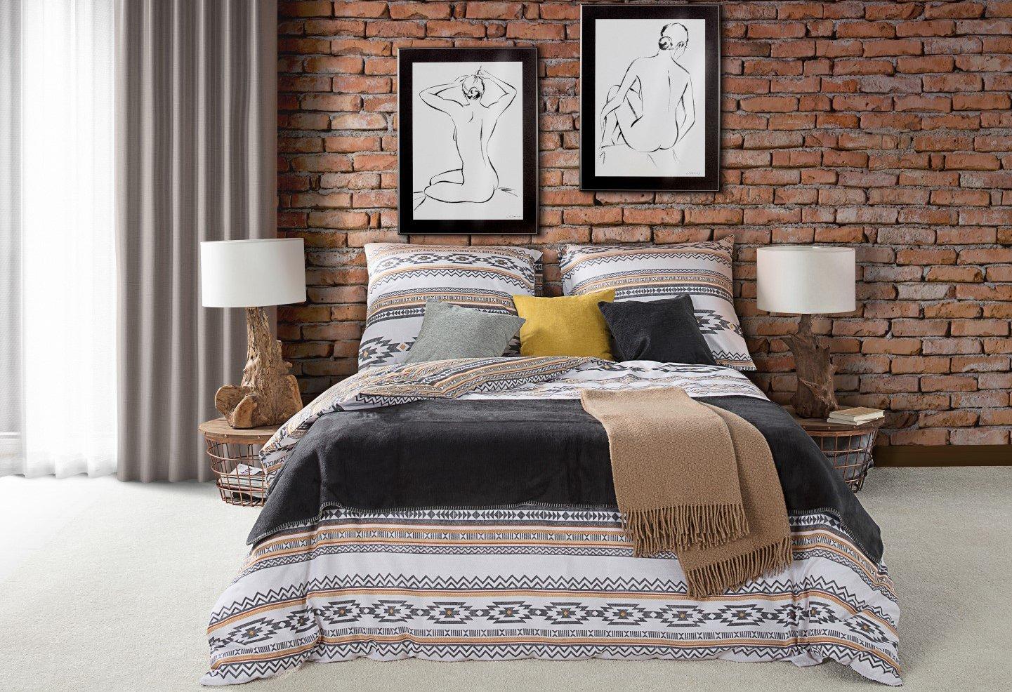 Bedroom Aztec Look