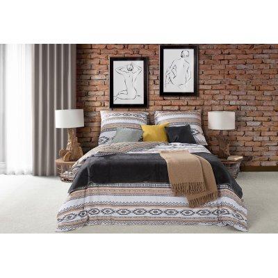 Aztécke vzory v spálni