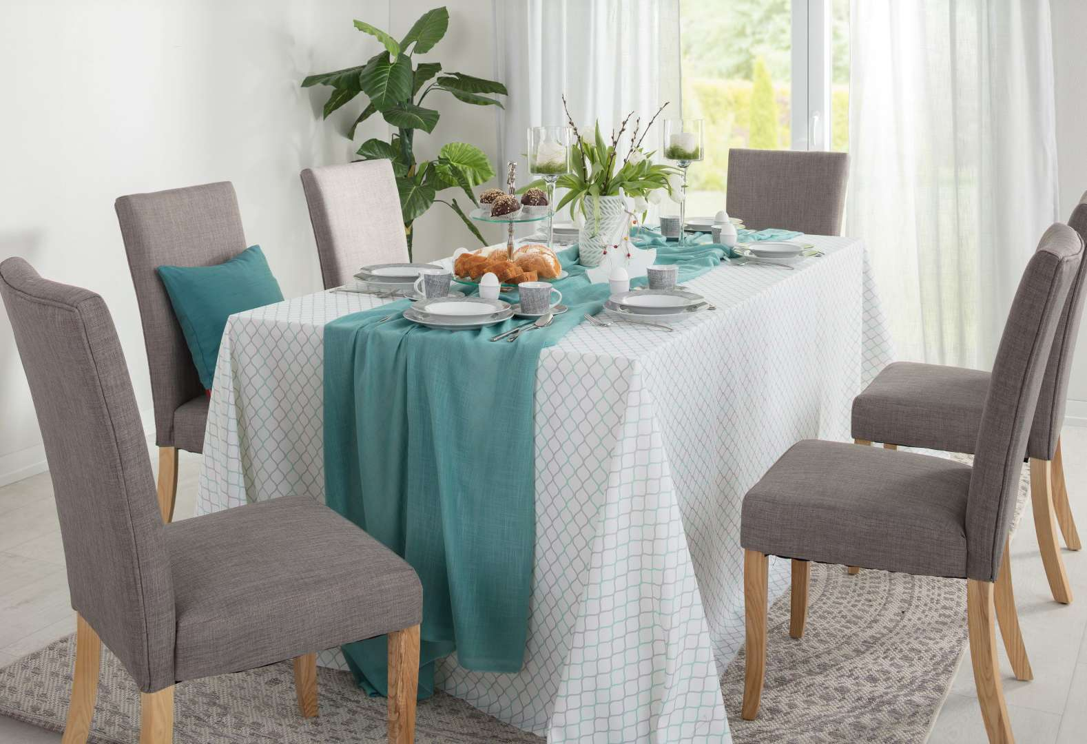 Chocolate & Teal Easter