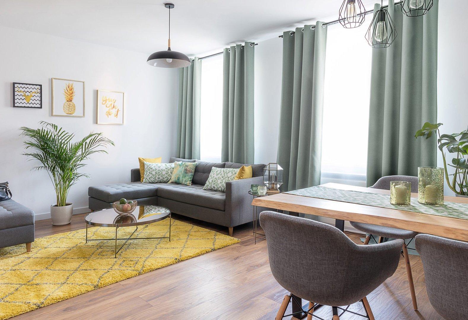 Moderná a štýlová - obývačka s jedálňou