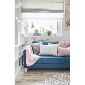 Nursery/Playroom in Blush & Blue