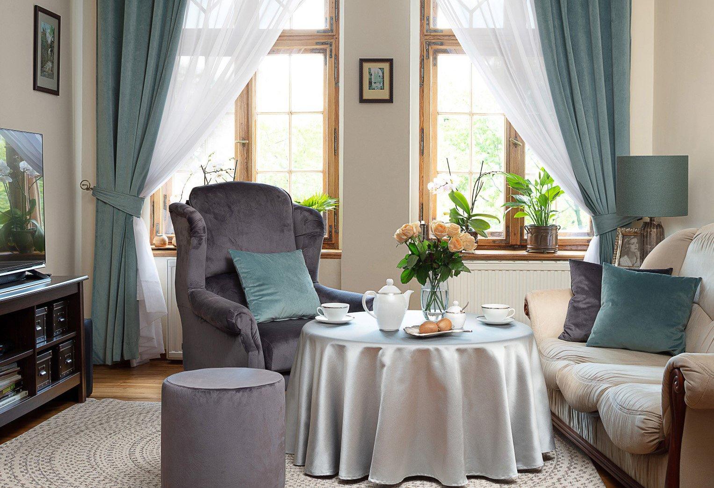 Elegante klassiekers in de woonkamer