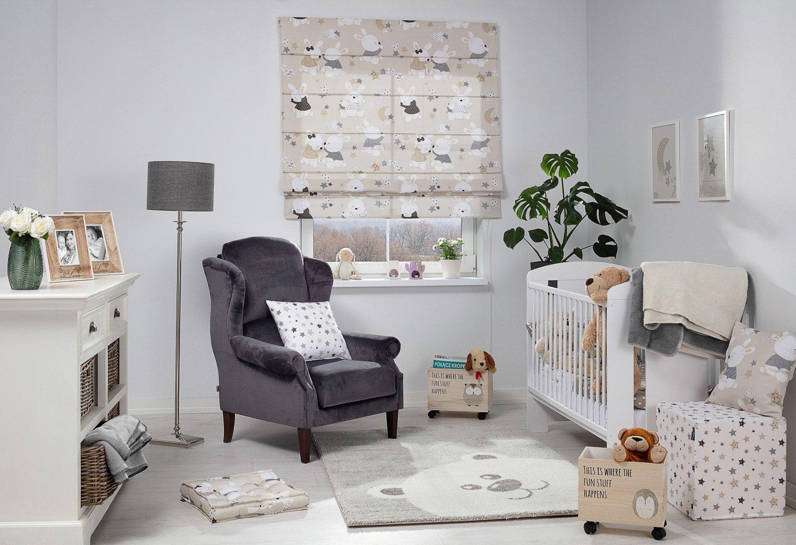 Przytulny pokój dziecięcy - Sweet Rabbit