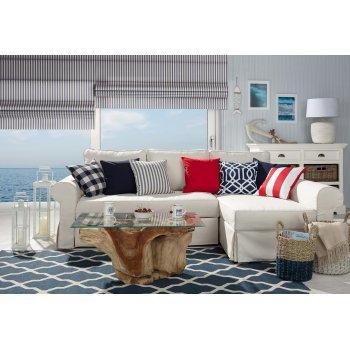 Wohnzimmer im maritimen Stil