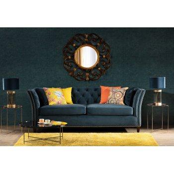 Living Room Dark Glamour