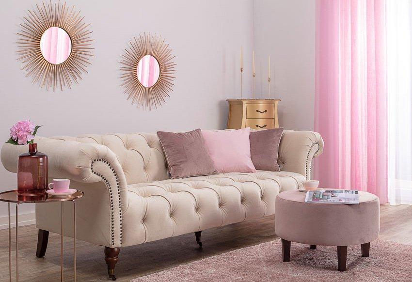 Nappali -pink és arany