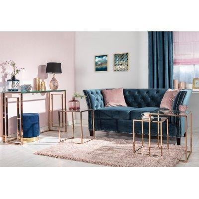 Velvet Elegance Living Room