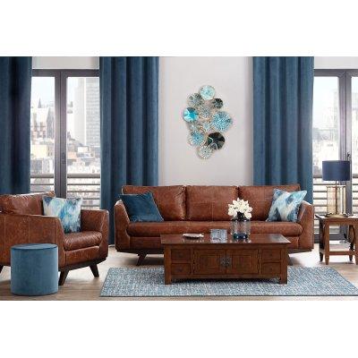 Leather & Luxury Blue
