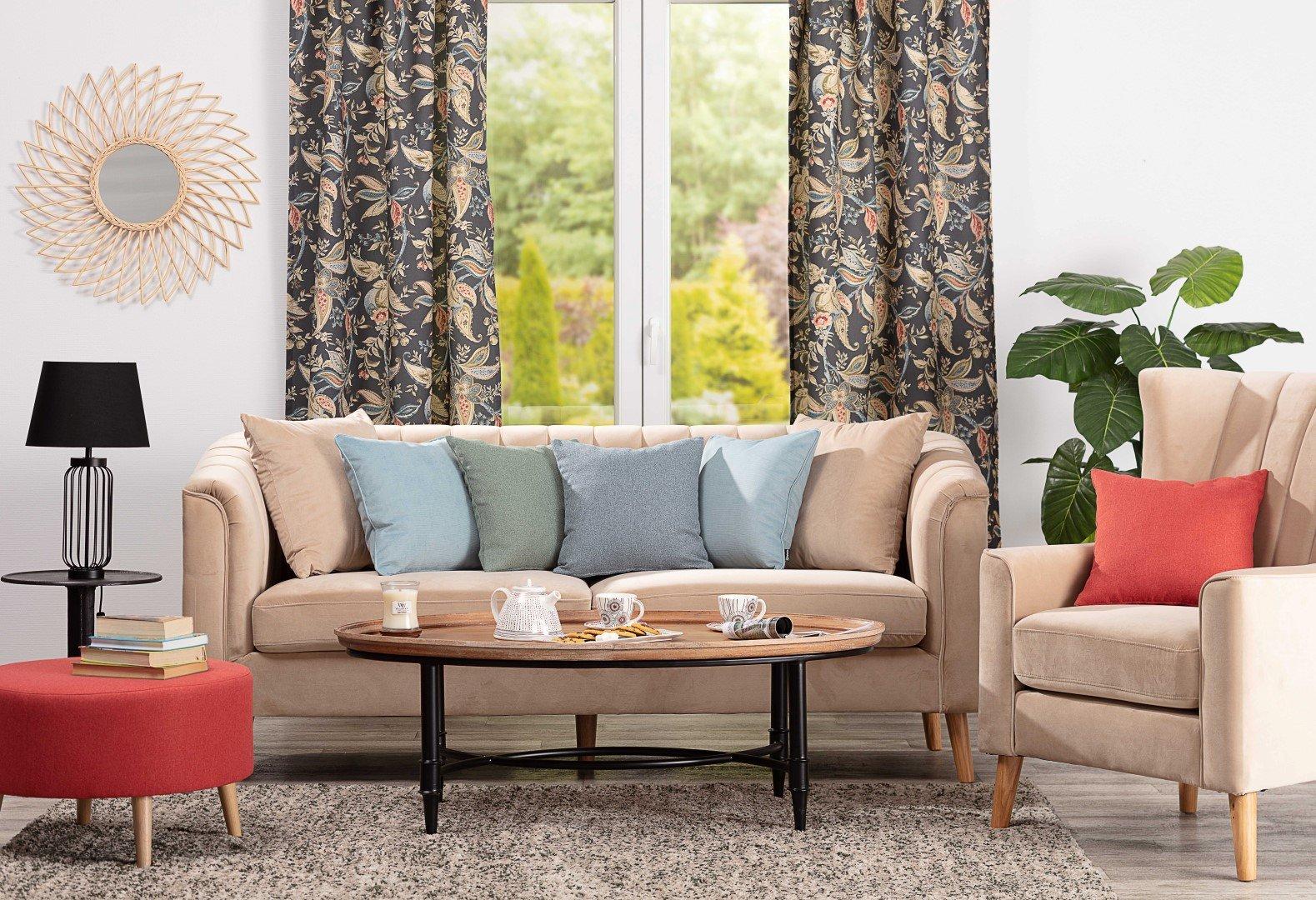 Vintage-inspired Living Room