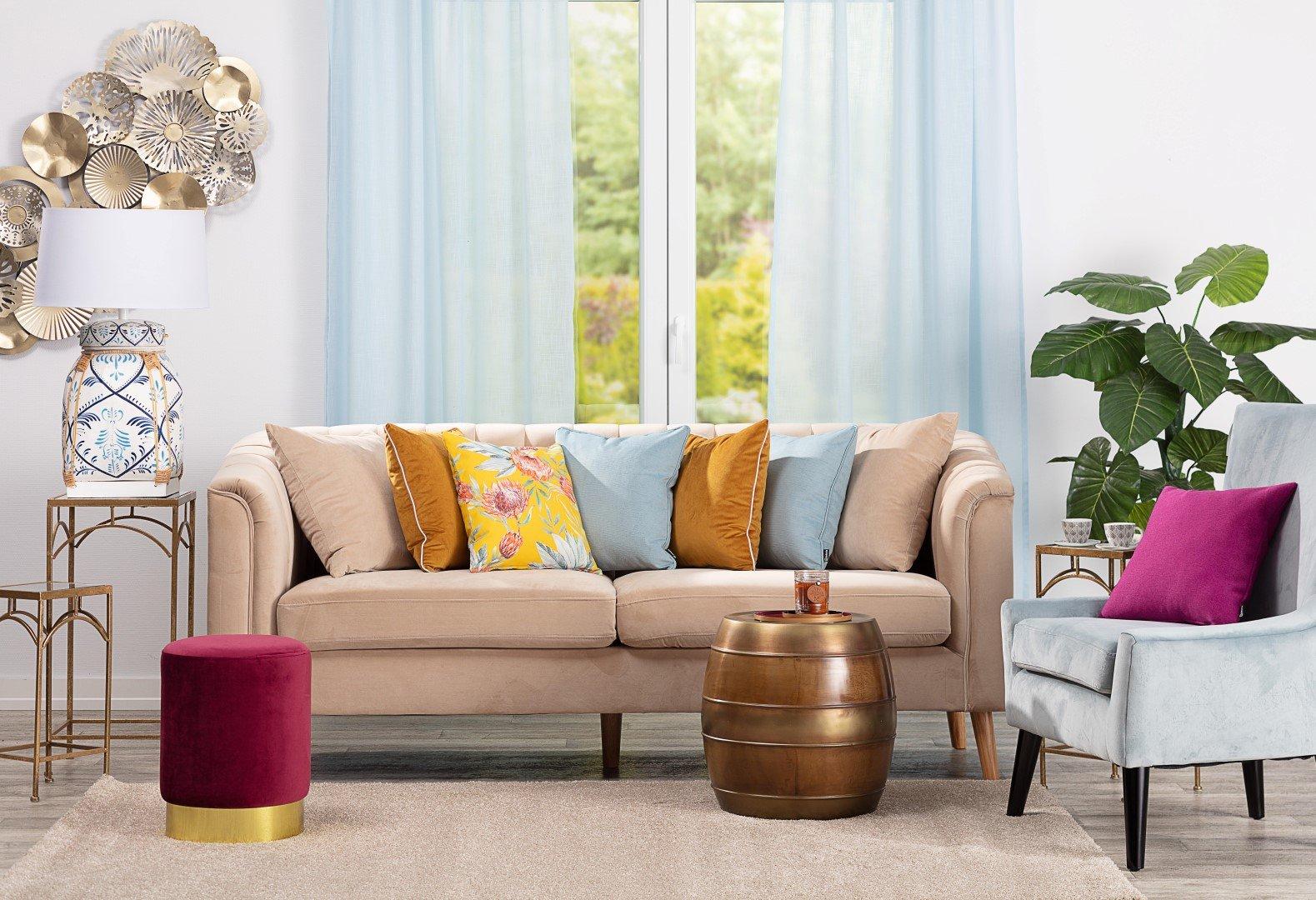 Living Room Smart Boho
