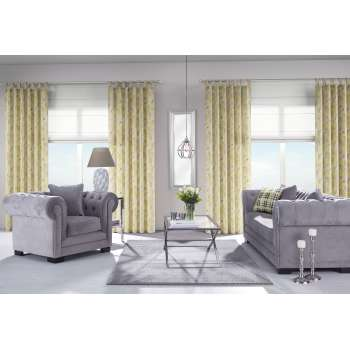 Yellow & Grey Living Room