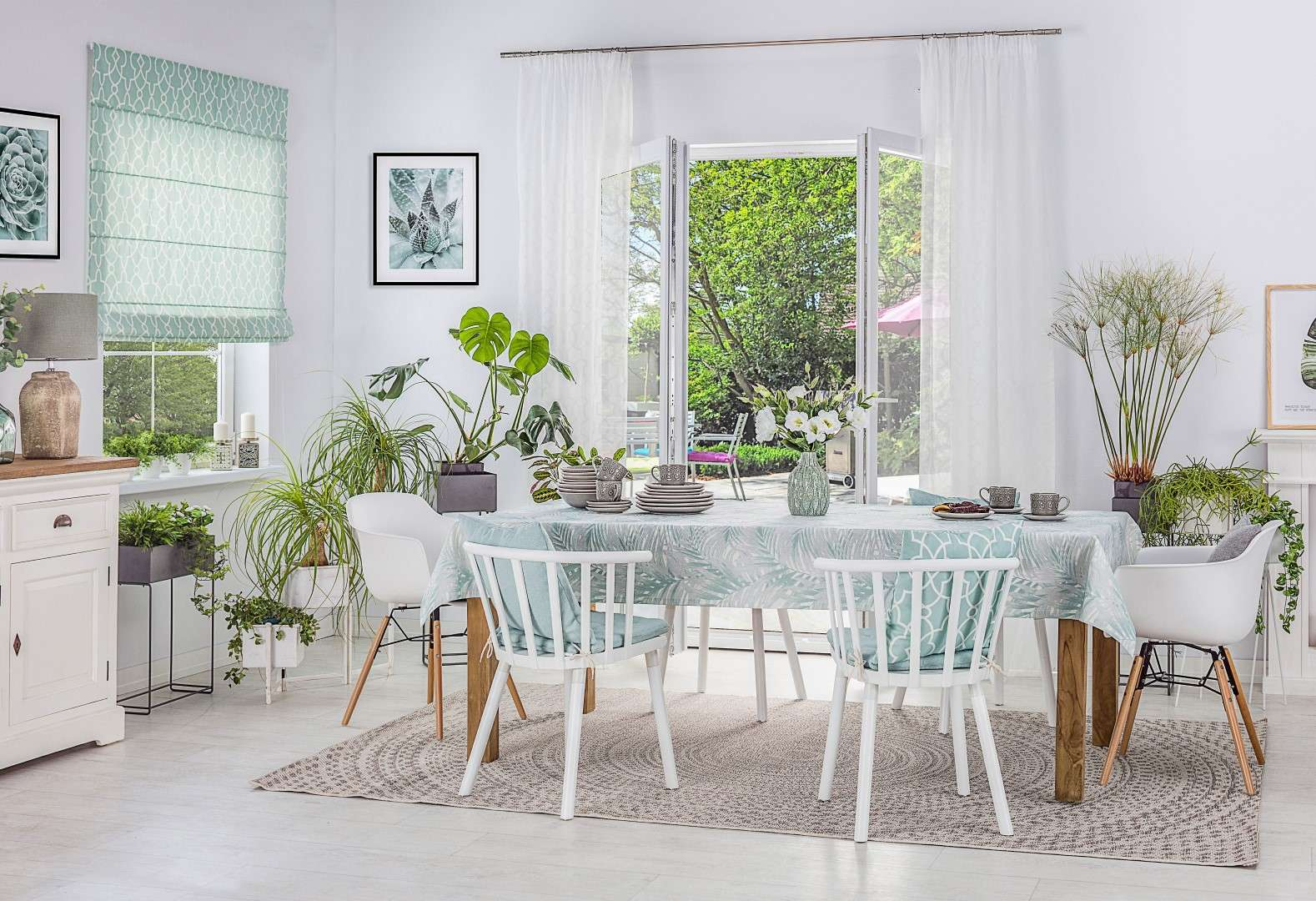 Dining Room Fresh Green