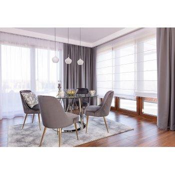 Simply Grey Dining Room