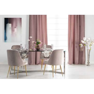 Dusty Pink Dining Room