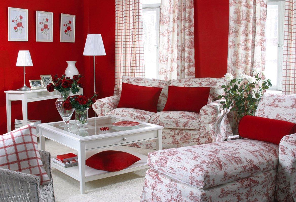 Obývací pokoj - látky Avignon
