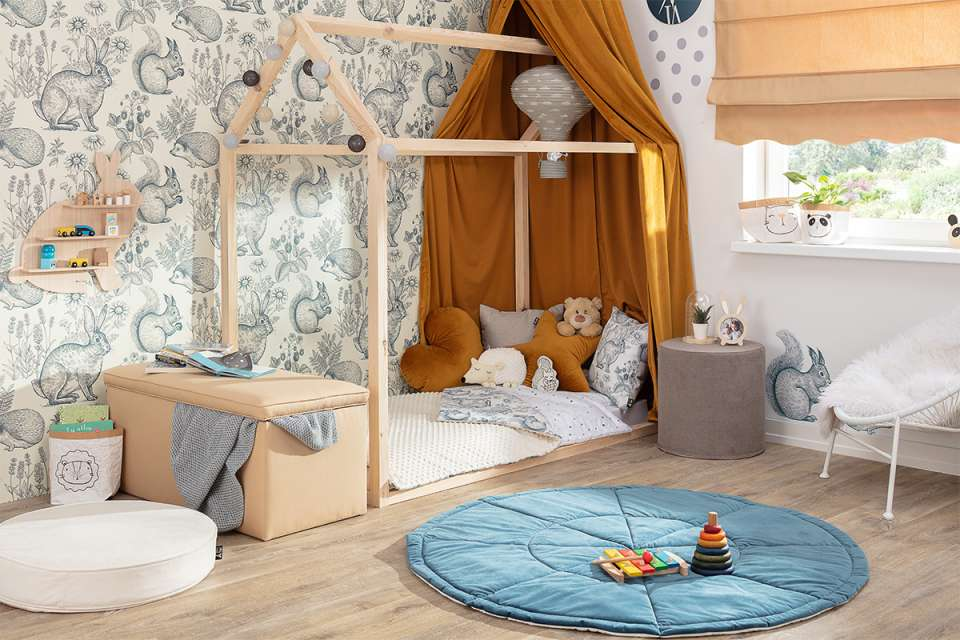Meadow & Mint Kids Bedroom