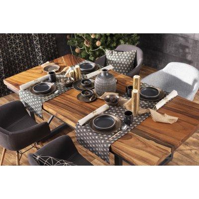 Sviatočný stôl black&gold