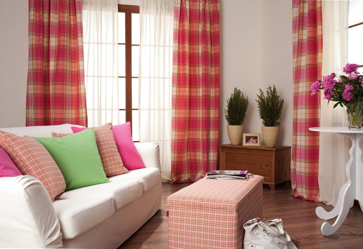 Inspiration - vardagsrum - soffklädslar - gardiner