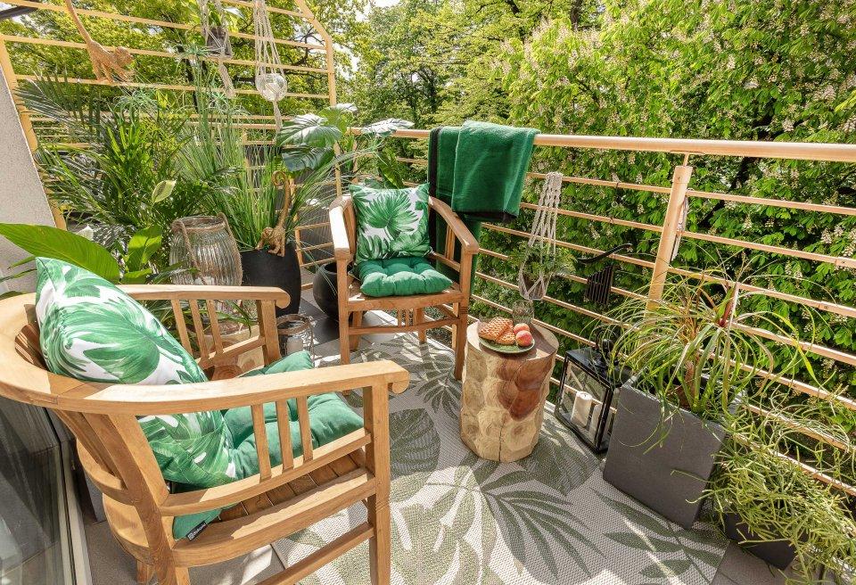 Jungle balkon