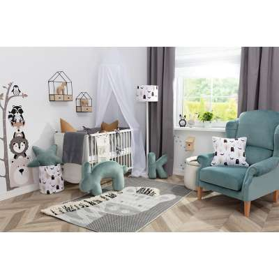 Scandi Forest Gray&Mint
