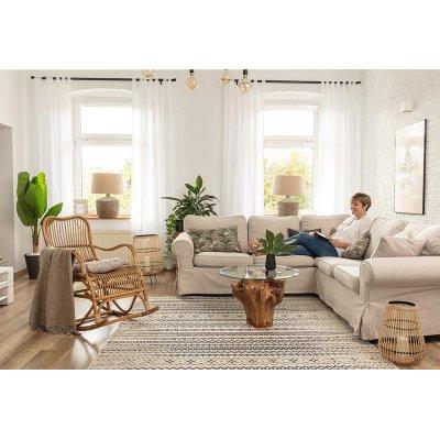 Obývací pokoj ve stylu boho