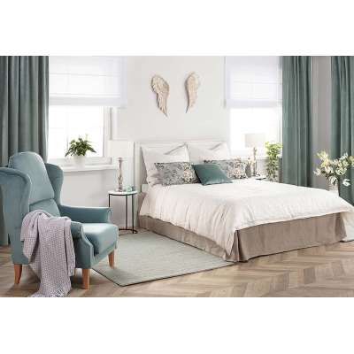 Minty bedroom