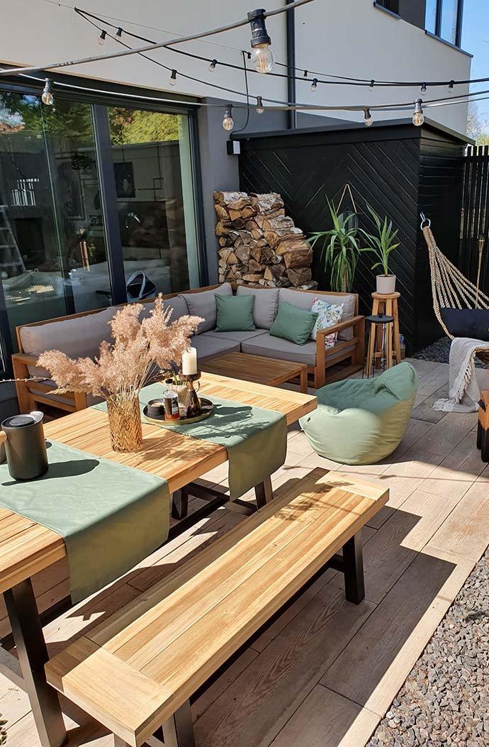 Odpočinok na terase